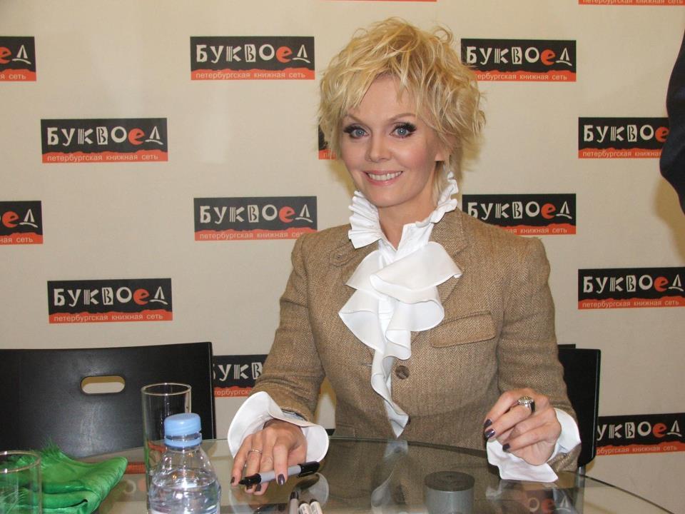 Певица Валерия проговорилась в БУКВОЕДе о своих планах на будущее