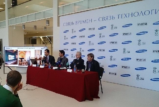Связь времен — связь технологий: Государственный Эрмитаж и компания Samsung Electronics объявили о запуске нового этапа сотрудничества