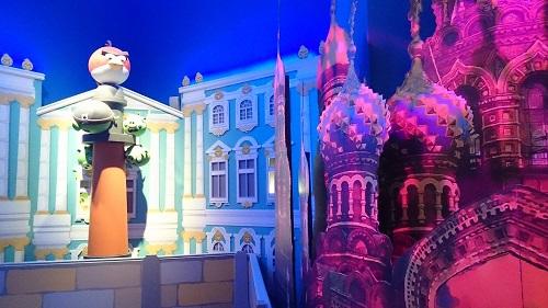 Специальный репортаж с места приземления Angry Birds в Санкт-Петербурге