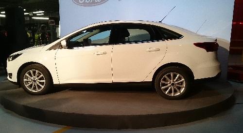 Новый Ford Focus адаптирован к российским реалиям