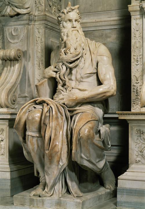 Статуя Моисея Микеланджело Буонарроти