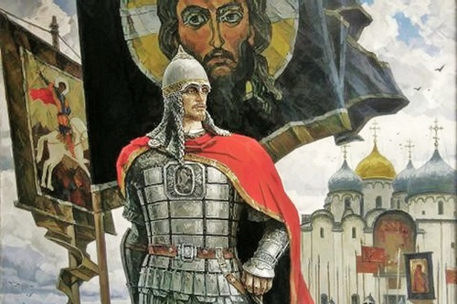 Князь Александр Невский, красавец своего времени