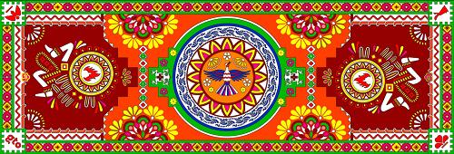 Цветочный ковер в Брюсселе-2018 в латиноамериканском стиле
