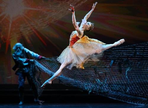 «Сказка о рыбаке и рыбке» в балетном исполнении