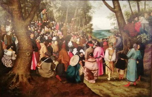 Отцы и дети. К окончанию реставрации картины Питера Брейгеля Младшего
