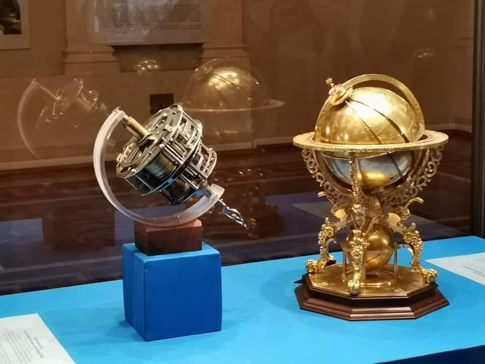 Эрмитажный глобус как геоцентрическая модель Вселенной